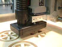 absaugung absaugstutzen f r cnc portalfr sen. Black Bedroom Furniture Sets. Home Design Ideas